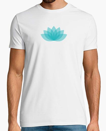 Tee-shirt Lotus bleu
