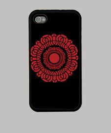 lotus rouge iphone 4