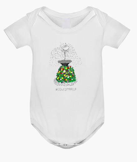 Ropa infantil L'ou com balla - Body nadó amb pigments ecològics