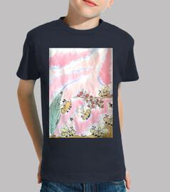 Loula et ses amies : T-shirt imprimé