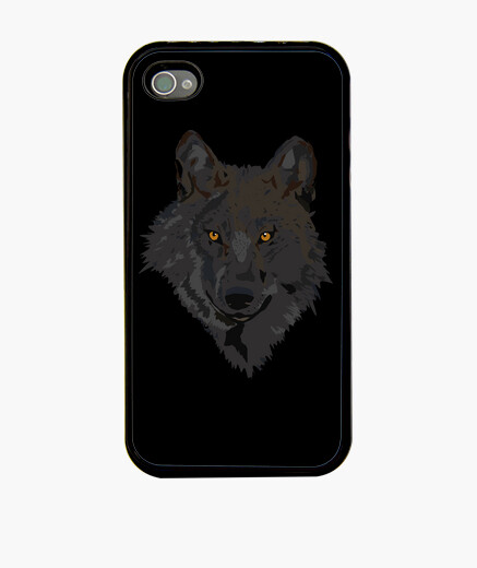 Coque iPhone loup