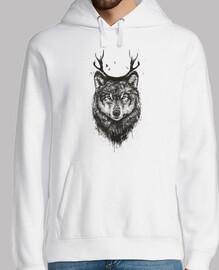 loup cerf