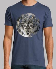 loup et la lune