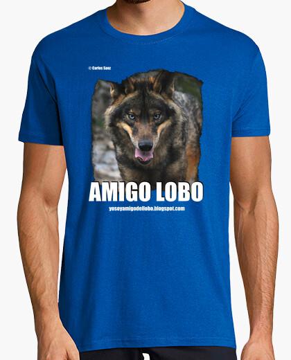 Tee-shirt loup iberico
