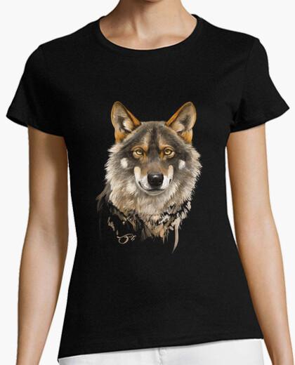 Tee-shirt loup ibérique