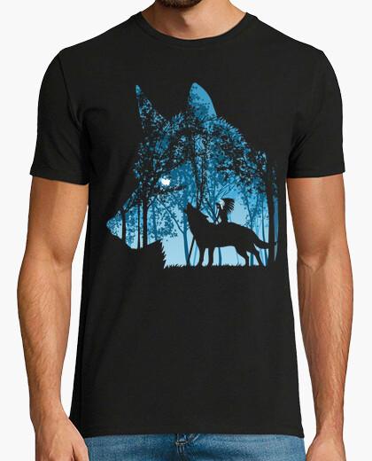 Tee-shirt loup inde