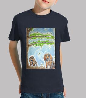 Loustik le chien héros  sur t-shirt !