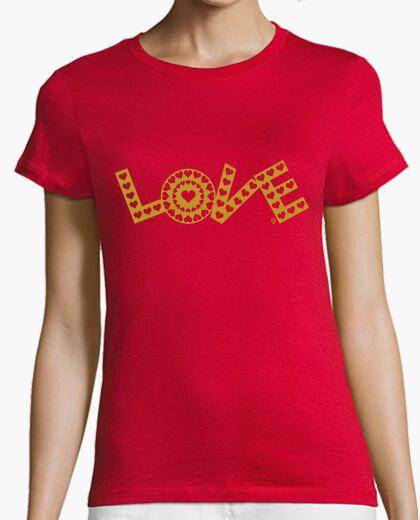 Camiseta LOVE-CORAZONES