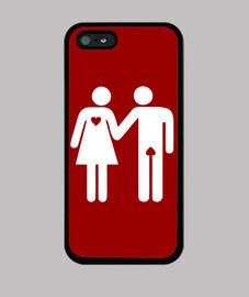 Love - Coque iPhone