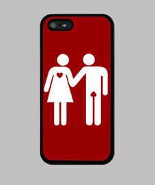 Love - Coque iPhone