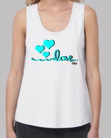 LOVE - CORAZONES AZULES