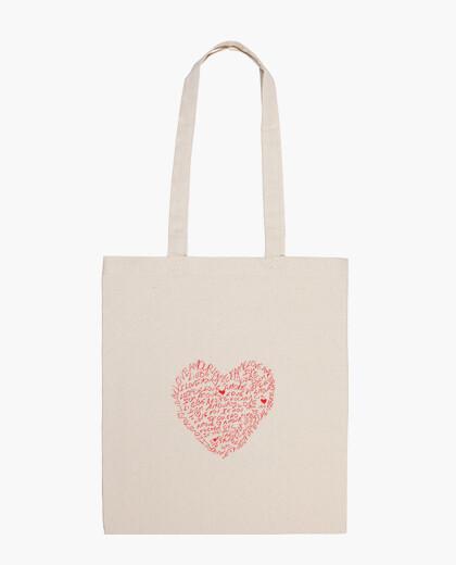 Bolsa love - valentine - boda