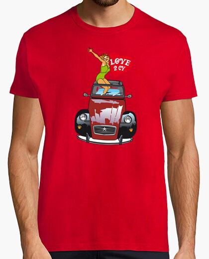 Love 2cv savoy milky t-shirt