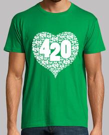 love 420 white