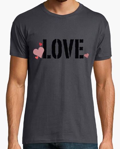 Camiseta Love   Corazones / Amor y Corazones