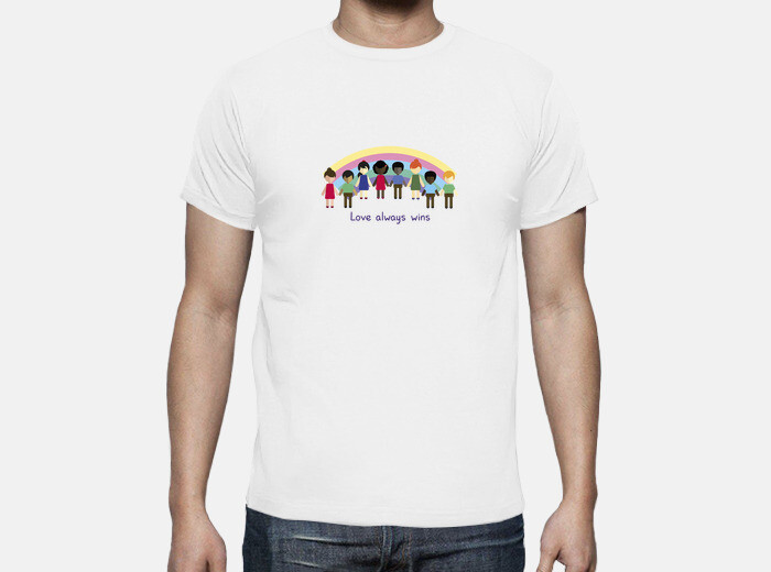 Love Always Wins T Shirt 989549 Tostadora Com