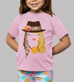 Love cara y sombrero