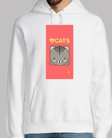 Love Cats rosa