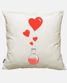 love chemistry flask of hearts geek
