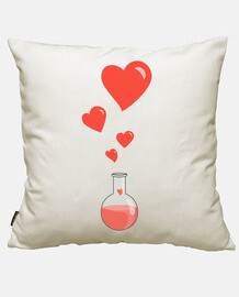 Love Chemistry Flask of Hearts Geek