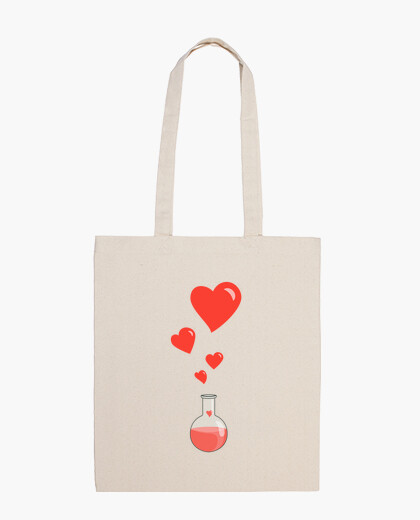 Love Chemistry Flask of Hearts Geek bag