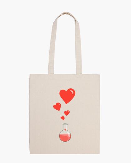 Love Chemistry Flask of Hearts Geek bag
