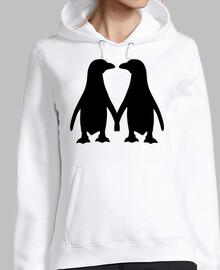 love couple pingouin