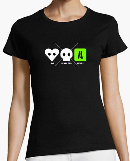 Camiseta LOVE DEATH AND MEMES