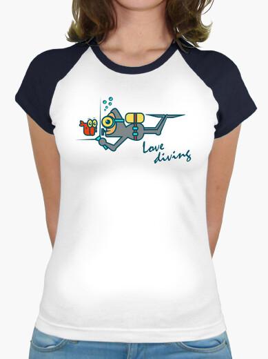 Camiseta Love Diving