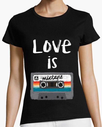 Tee-shirt love est un ape mélangé