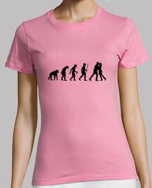 Love evolution step