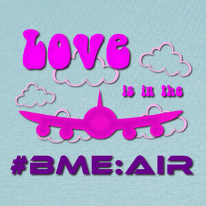 Camisetas Love is in the AIRBUS