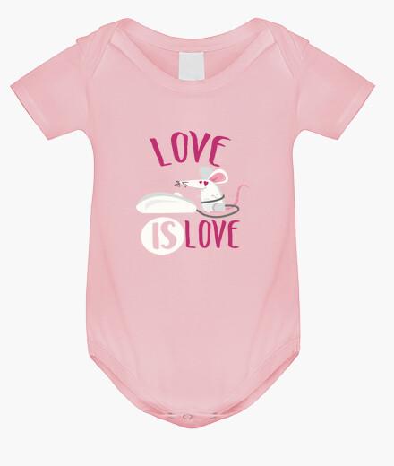 Ropa infantil Love is Love