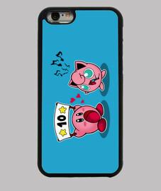 Case/Funda iPhone 4 Angry Jigglypuff laTostadora