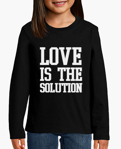 Ropa infantil Love is the solution