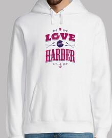 love me harder hoodie