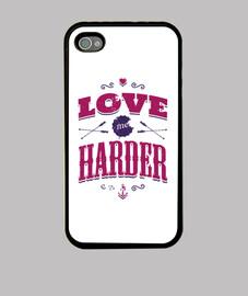 LOVE ME HARDER iphone 4