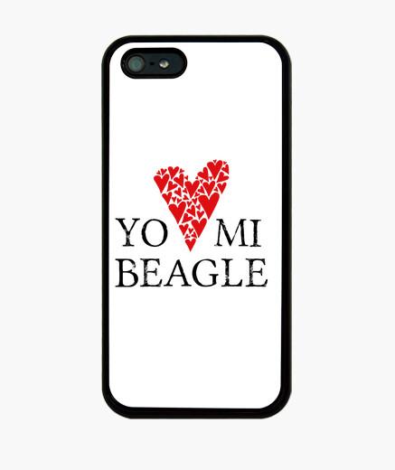 Funda iPhone Love mi beagle