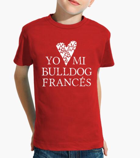 Ropa infantil Love mi bulldog francés