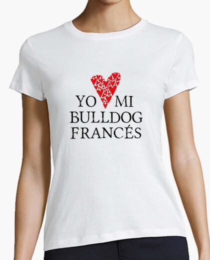 Camiseta Love mi bulldog francés