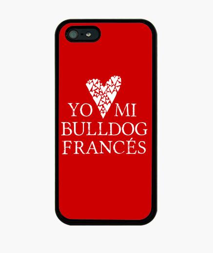 Funda iPhone Love mi bulldog francés