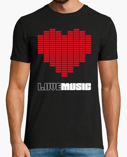 Camiseta Love Music