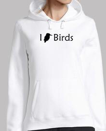 love oiseaux (noir)