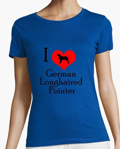 Tee-shirt love pointeur poil long ger man
