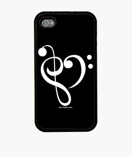 Funda iPhone Love Re Mi White