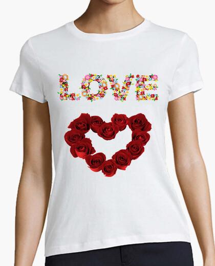 T-shirt Love (Rose d' Amore )