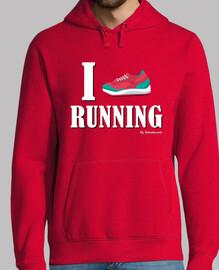 Love running - Texto blanco