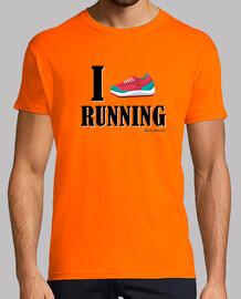 Love running - texto negro