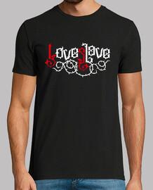 Love Slave - Amor Esclavo (rojo blanco)