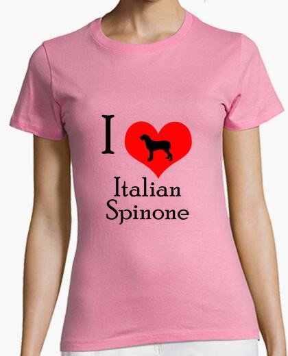 Tee-shirt love spinone italien
